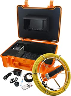 Steel Dragon Tools Model 915CD Pipe Inspection Camera with DVR and 130 FT Cable