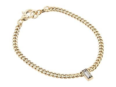 AllSaints Curb Chain Bracelet (Black Diamond) Bracelet