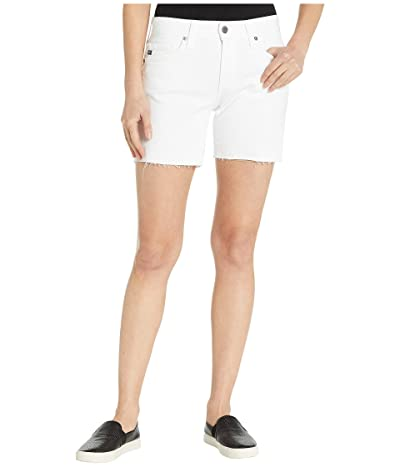 AG Adriano Goldschmied Becke Shorts in White (White) Women