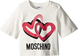 Moschino Kids - Logo Heart Graphic T-Shirt (Little Kids/Big Kids)