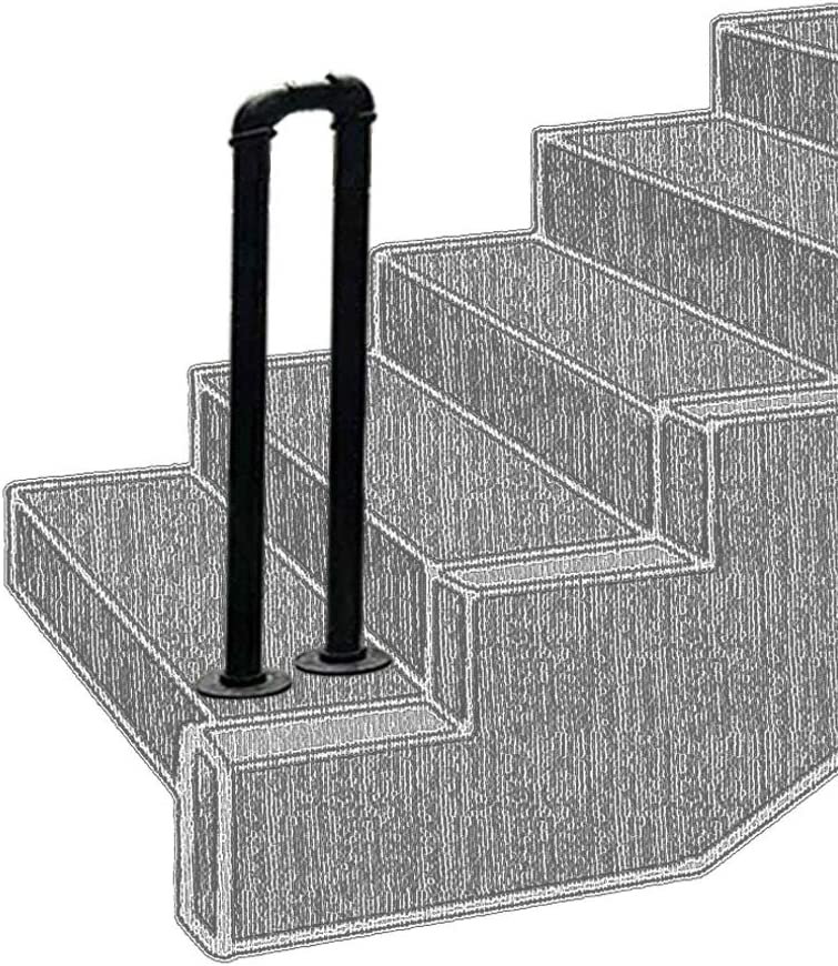 Stair Banister Handrail for Outdoor Steps Industry No. 1 Industrial Black Pipe Sales results No. 1