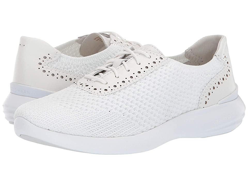 Cole Haan 2.0 Ella Grand Knit Oxford (Optic White Knit/Optic White Leather/Optic White) Women