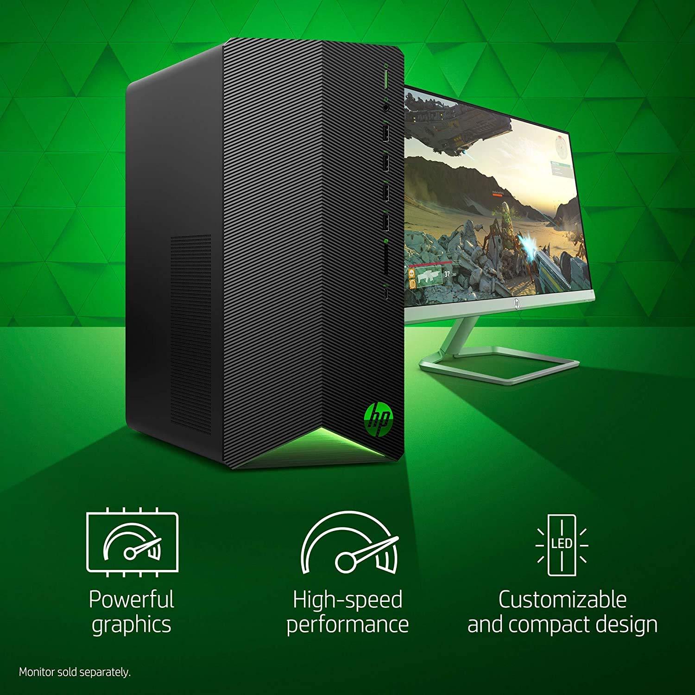 2021 Newest HP Pavilion Gaming Desktop Computer