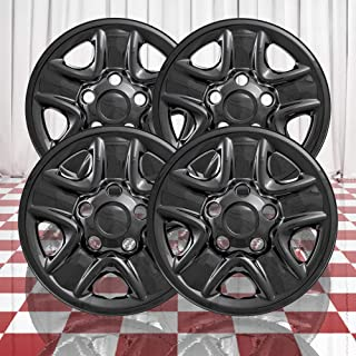 Brighter Design Set of 4 Gloss Black 5 Spoke 18