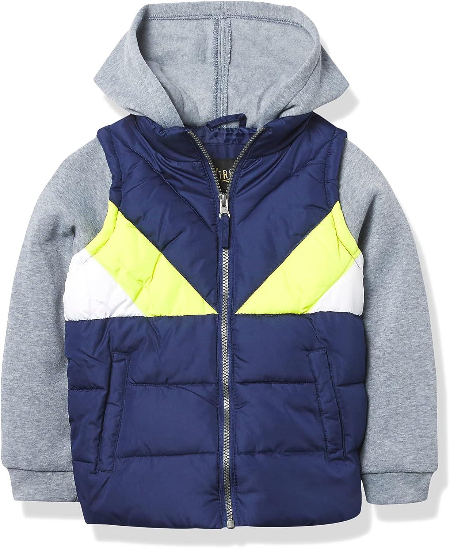 iXtreme Boys' Midweight Vest 2fer Jacket