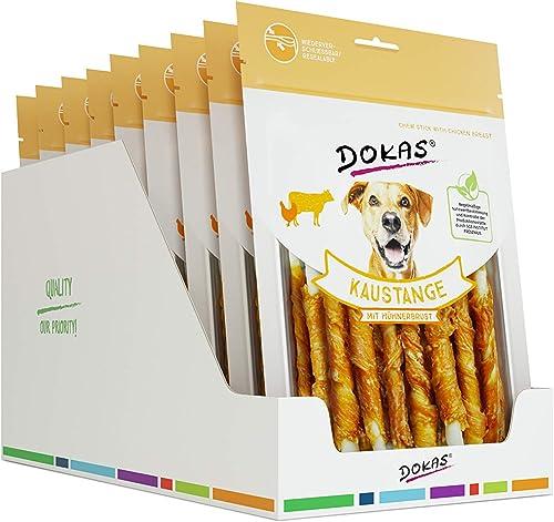DOKAS Barre à mâcher – Friandises à mâcher Premium sans céréales pour Chiens 9 x 200 g