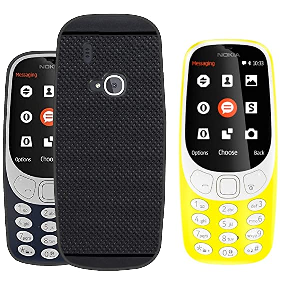 Nokia 3310 Dual SIM Feature Phone with MP3 Player, Wireless FM Radio and Rear Camera, Yellow