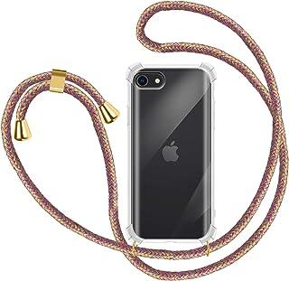 2ndSpring Funda con Cuerda Compatible con Huawei P10,Colgante Collar Correa de Cuello Cadena Cord/ón,Menta Verde