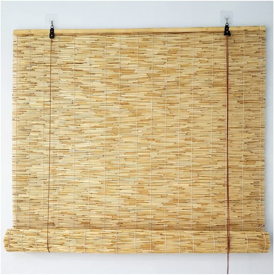 LSXIAO Roller Shades Blinds Curtains Privacy Scree Reed Nashville-Davidson Mall New Free Shipping Natural