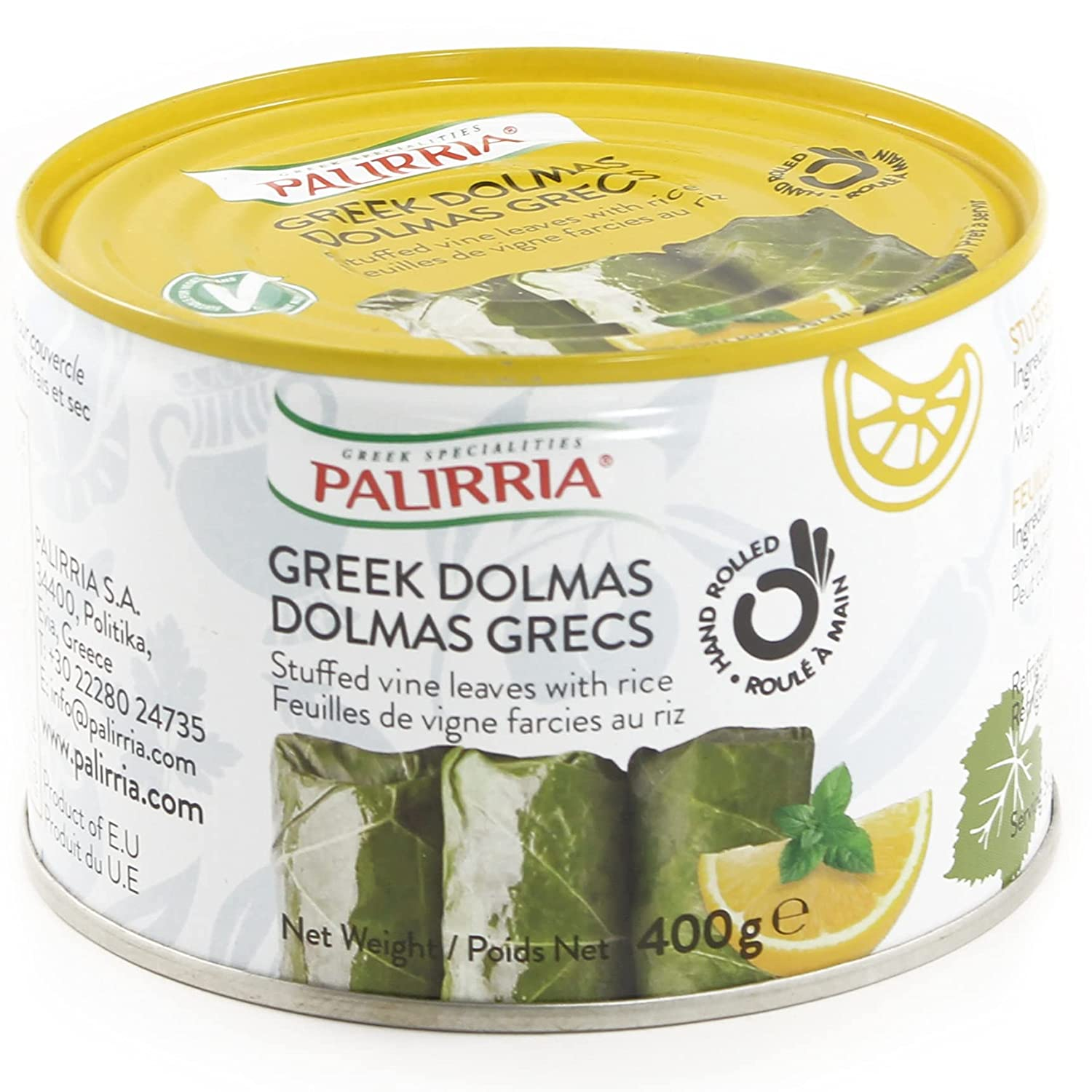 Palirria Greek Popular shop is the lowest price challenge Dolmas 14 Bargain sale Ounce 3 of Pack Cans