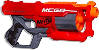 Nerf Mega - Cycloneshock Blaster inc 6 Official Darts - Mega Rotating Drum - Kids Toys & Outdoor Play - Ages 8+