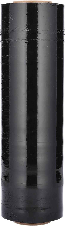 Cast Hand Stretch Plastic 本物 Wrap Black Tint 1000' 18