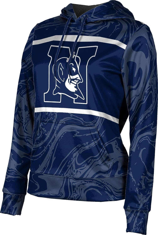 ProSphere Norcross High School Girls' Pullover Hoodie, School Spirit Sweatshirt (Ripple)