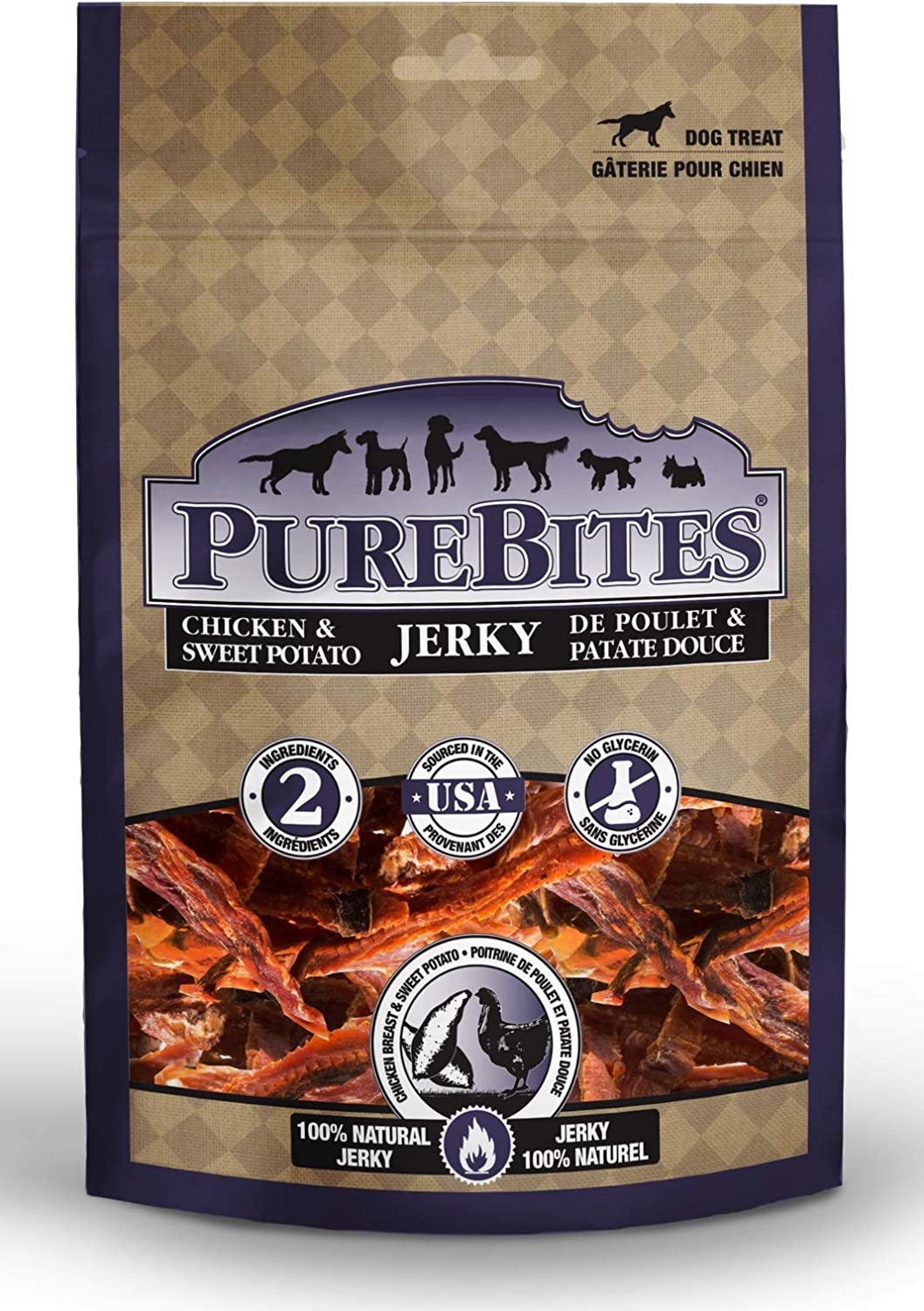 PureBites Chicken Sweet Potato Sales results No. 1 Jacksonville Mall for Jerky Dogs