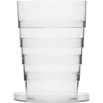 Sagaform Beer Glass Foldable, 9 x 9 x 19 cm