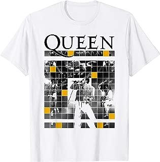 Queen Official Live Concert Blocks T-Shirt