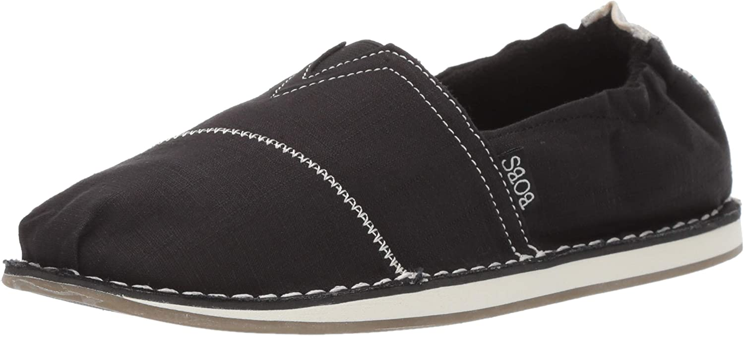 Skechers Women's New Shipping Free Shipping Bobs Chill-Waterfront. Scrunchback Max 83% OFF Stitch Linen