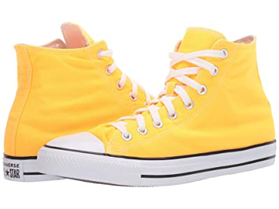 Converse Chuck Taylor All Star Seasonal Color Hi (Laser Orange) Lace up casual Shoes