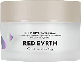 Red Earth DEEP DIVE Water Gel Cream For Face - Plumping And Hydrating Moisturizing Cream - Gel Type Sleep Mask And Face Cream For Dry Skin