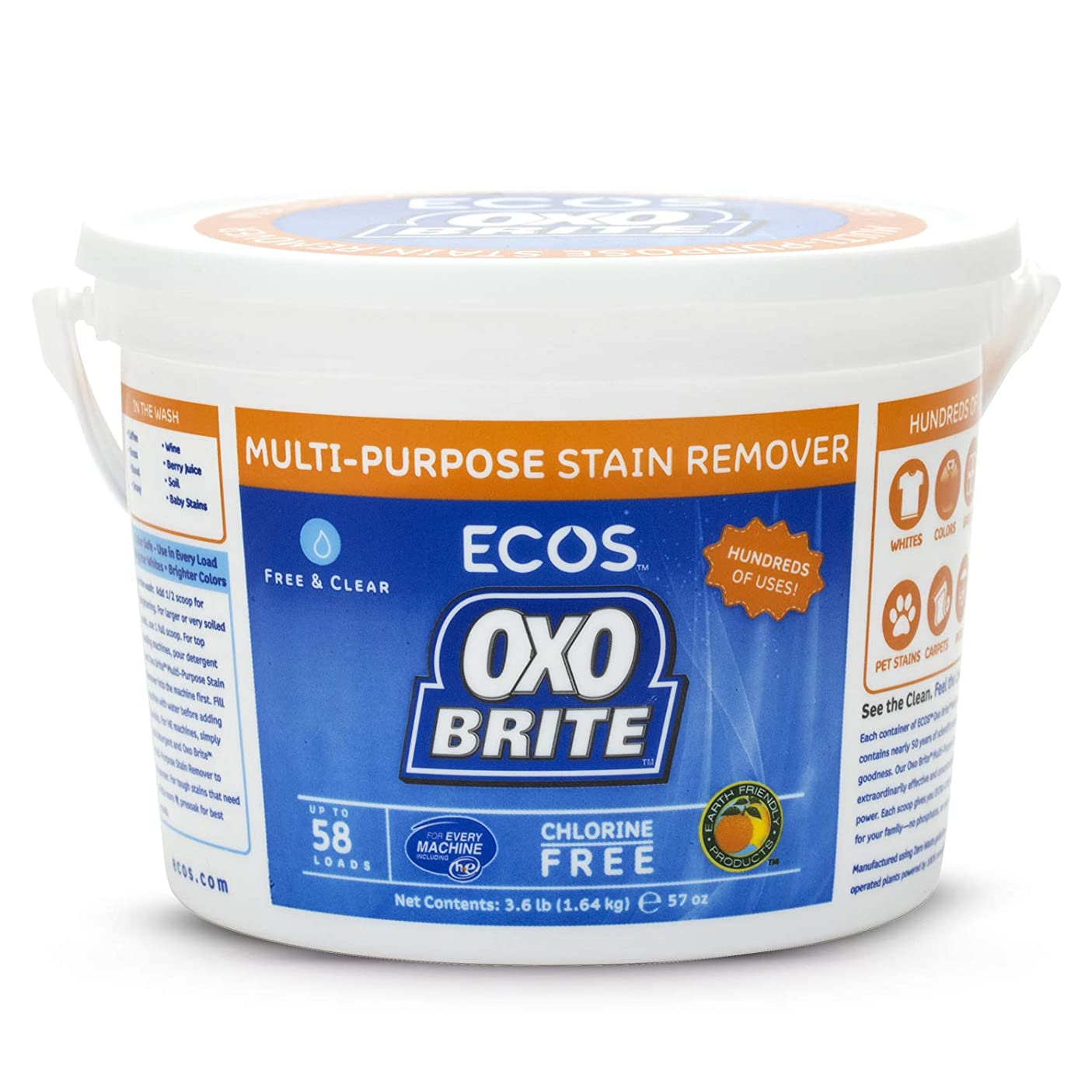 開発防ぐ縫い目Earth Friendly - オキソBriteの酸素及び酵素の洗濯のブスターのポッド - 20 ポーチ