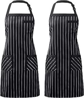 three pocket bib apron