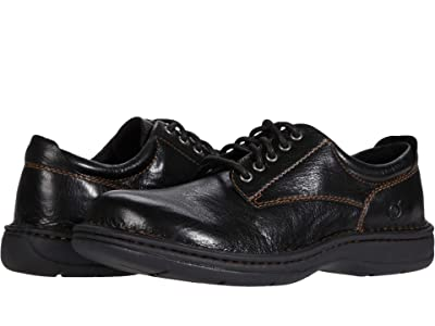 Born Hutchins III (Black Full Grain Leather) Men