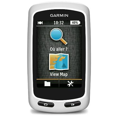 Garmin Edge Touring Navigatore, Bianco/Nero