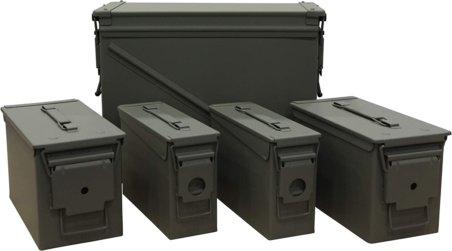 Very Easy-to-use popular MidwayUSA U.S. Ballistics Mil-Spec Ammo Pack 20m Combo Can 5-Can