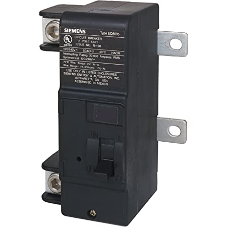 MURRAY MBK200M 200-Amp Main Circuit Breaker for Use in Rock Solid Type Load  Centers, COLOR - - Amazon.com | Murray 200 Amp Service Panel Wiring Diagram |  | Amazon.com