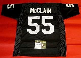 mcclain raiders jersey