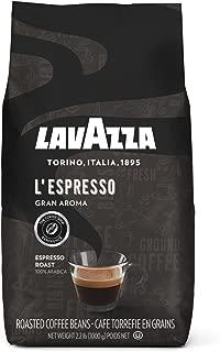 Lavazza L'Espresso Gran Aroma Whole Bean Coffee Blend, Medium Espresso Roast, 2.2-Pound Bag
