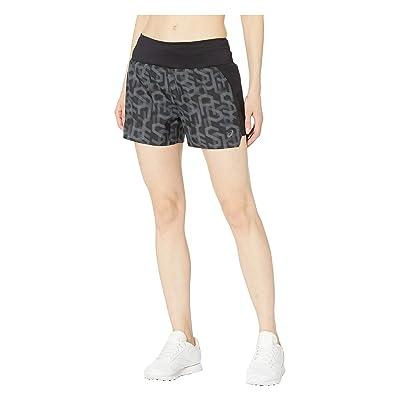 ASICS 3.5 Printed Shorts (Hex Performance Black) Women