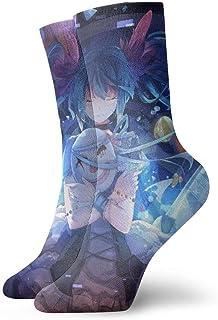 eneric, Vocaloid Calcetines Crew divertidos casuales unisex adultos 'S niños Anime estampados tobillos niños pequeños calcetín acolchado cómodo Cool 90' S