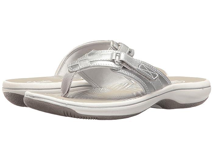 Clarks  Breeze Sea (Silver Metallic) Womens Sandals