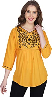 57f1fe2795 Amazon.in: Golds - Tops, T-Shirts & Shirts / Western Wear: Clothing ...