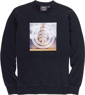 Element Combust Icon Sweatshirt in Flint Black