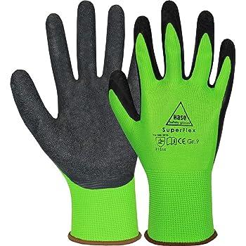 10 Paar Neogrip Green Arbeitshandschuhe Gartenhandschuhe Strickhandschuhe Latex