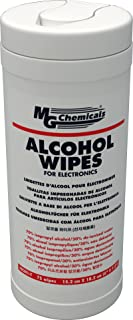 MG Chemicals Lingettes d'alcool multi-usage