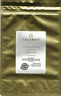 Callebaut Dark Callets 70.4 % (2 lb) (4 Lb)