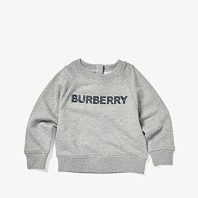 Burberry Kids Min Derick Sweater (Infant/Toddler) (Grey Melange) Boy