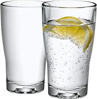 WMF Basic Wasserglas-Set 2 Stück, Trinkgläser 265ml, Glas, spülmaschinengeeignet