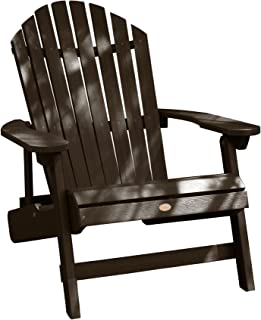 Highwood AD-KING1-ACE Hamilton Adirondack Chair, King, Weathered Acorn