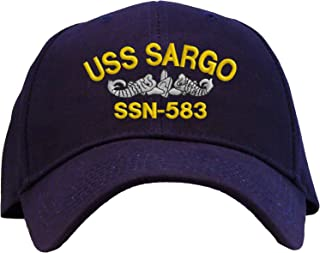 Spiffy Custom Gifts USS Sargo SSN-583 Embroidered Pro Sport Baseball Cap