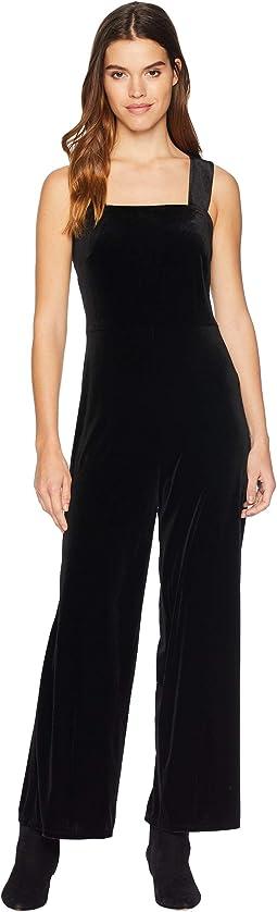 Plush Velvet Jumpsuit KSNU7086