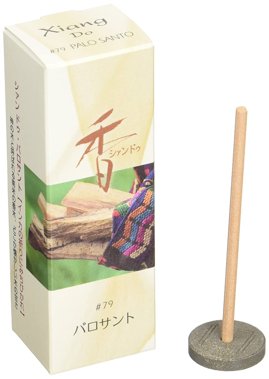 悲しい誘発するにおい松栄堂のお香 Xiang Do パロサント ST20本入 簡易香立付 #214279