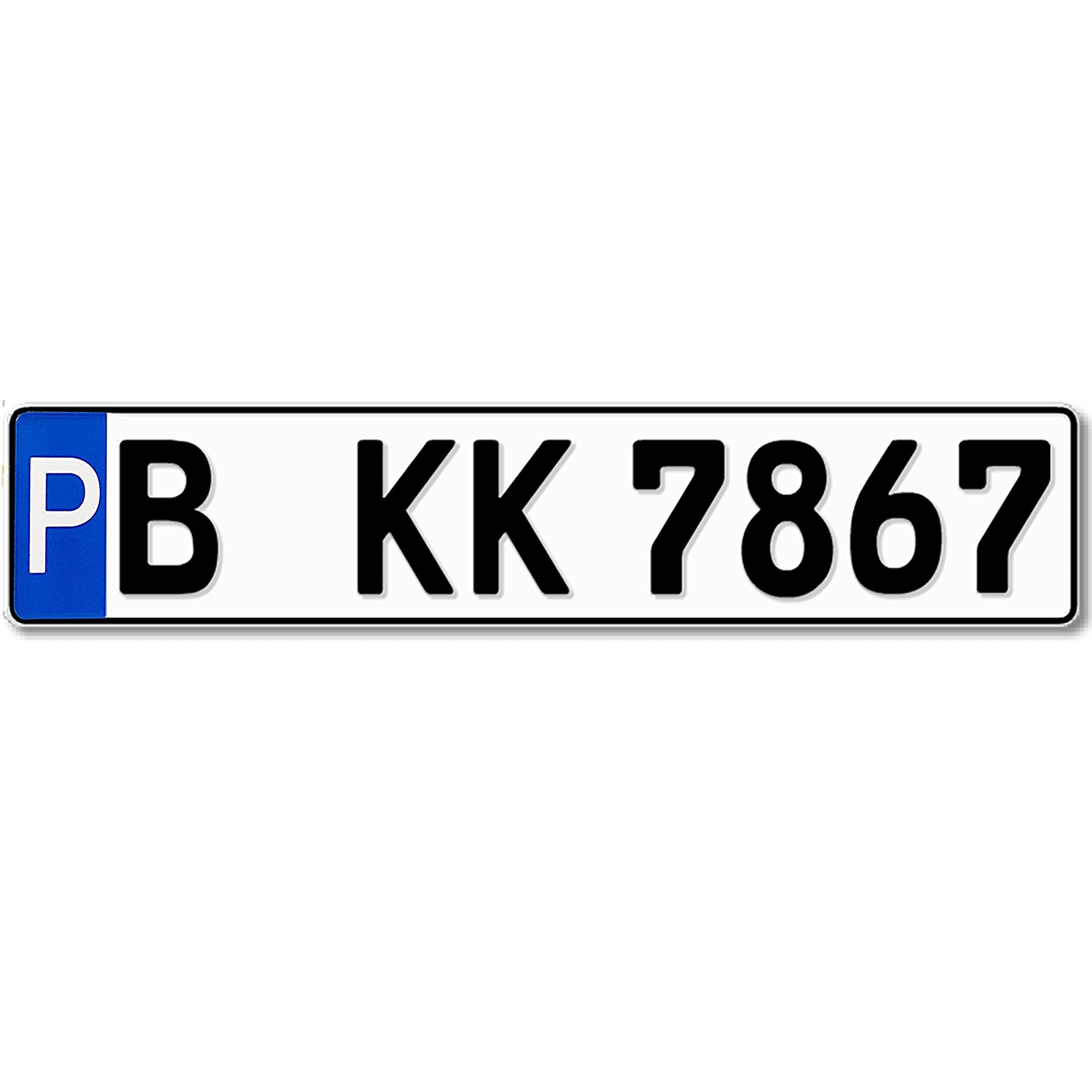Cartel de estacionamiento número de placa 520 x 110 mm, reflective, Solicitud de matrícula, Texto deseado, Nombres o Str Hausnr: Amazon.es: Coche y moto