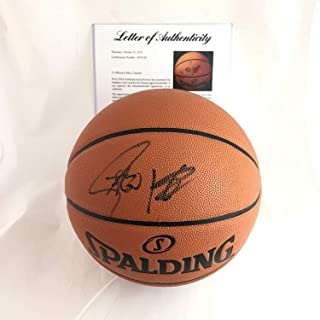 Stephen Curry Kevin Durant Autographed Signed Basketball PSA DNA Warriors Autographed  Signed Steph 02053e1d6