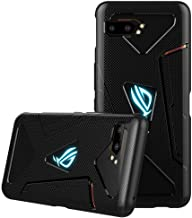 XINKOE Case for Asus ROG Phone 2, Ultra Silm Cover [Slim-Fit] [Anti-Scratch] [Shock Absorption] [Durable] for Asus ROG Phone 2 - Black