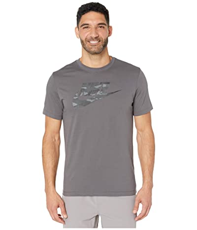 Nike NSW Tee Camouflage 2 (Dark Grey/Dark Grey) Men