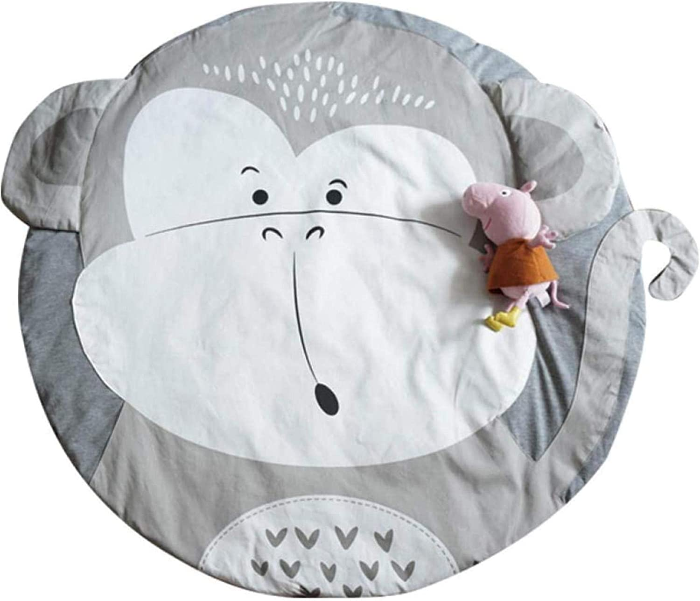 Baby Fitness Playmat, baby Print kruipen mat, 100% natuurlijk materiaal baby Mat for Speel Crawling Sleeping Veranderen zachte warme Dikke eternal (Color : Butterfly) Giraffe